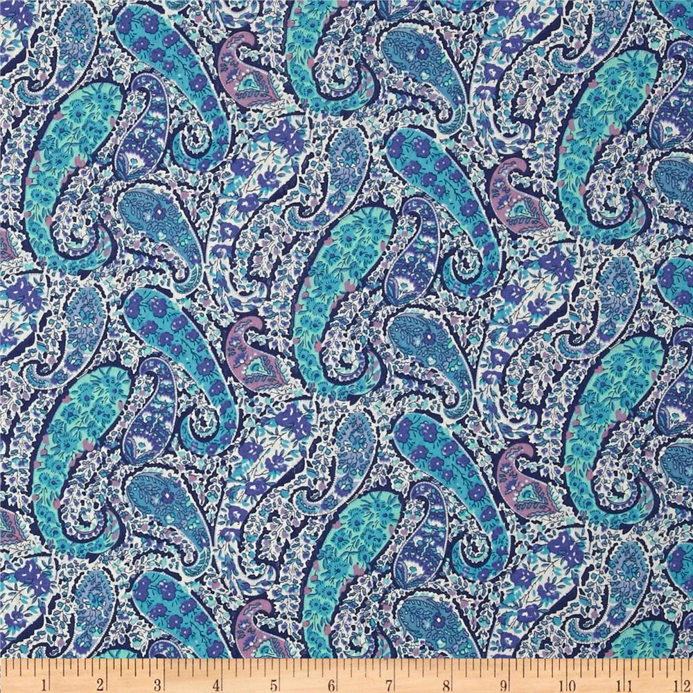 Liberty Of London Tana Lawn Bourton Blue/Multi