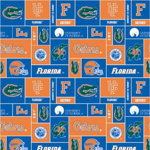 Collegiate Fleece University of Florida Blocks