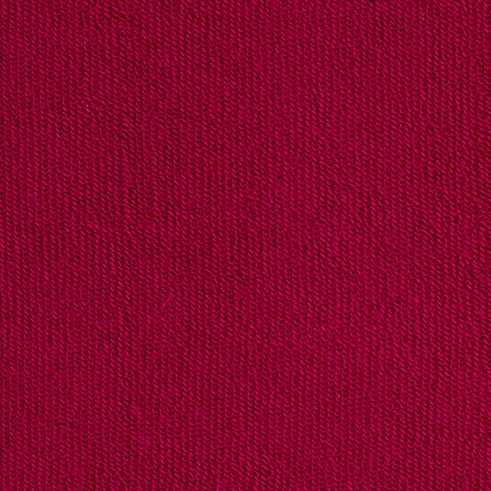 Organic Cotton French Terry Knit Magenta