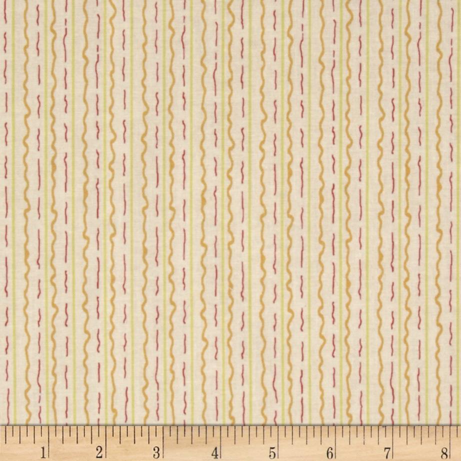 Marmalade Cottage Stripe Orange/Yellow