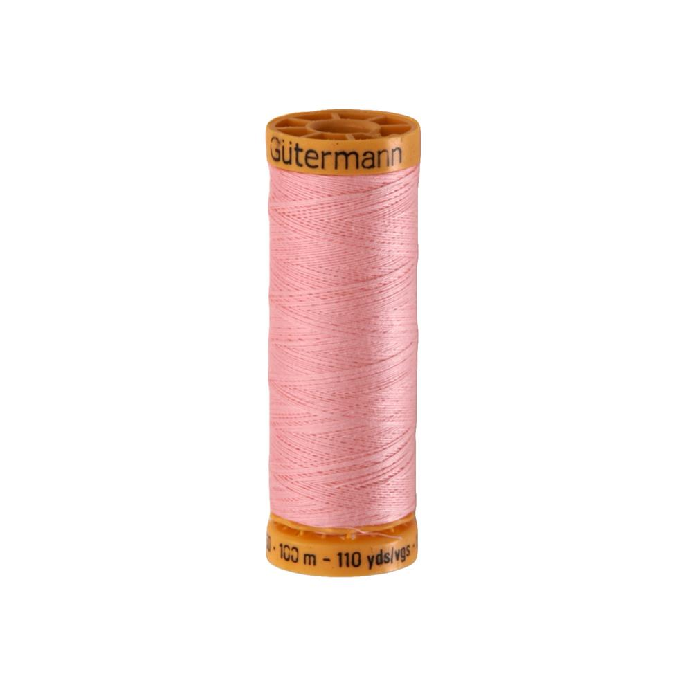 Gutermann Natural Cotton Thread 100m/109yds Pink