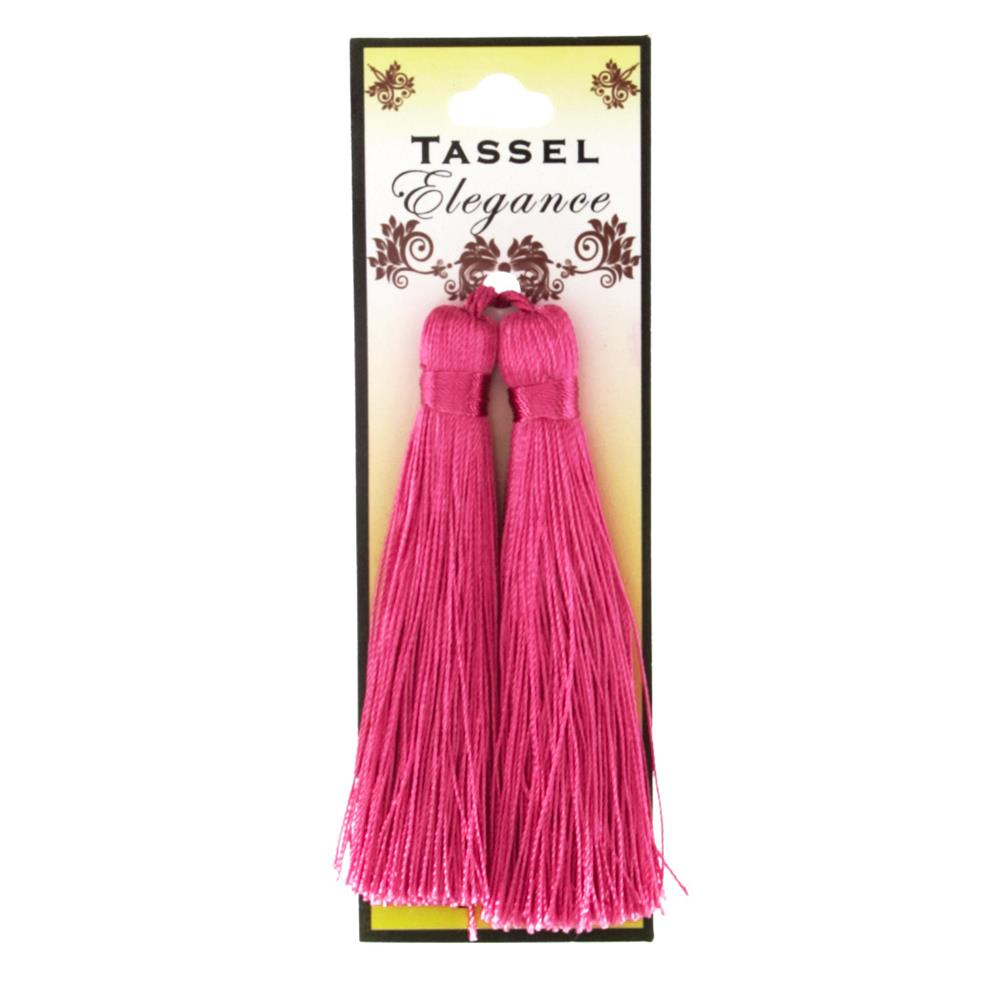 Expo 4&#39;&#39; Rayon Tassel Fuchsia