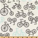 Michael Miller It&#39;s A Boy Thing Bicycles Haze