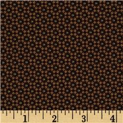 Civil War Miniatures Small Geometric Bursts Tan/Brown/Charcoal
