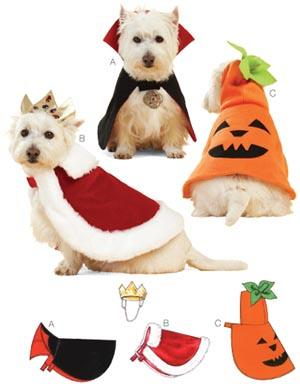 Kwik Sew Holiday Pet Costumes Pattern