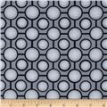 Metropia Circles Geometric Grey