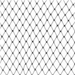 CI-478 18'' Russian Netting Black