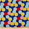 Michael Miller Cynthia Rowley Paintbox Little Big Dot Navy