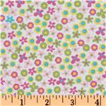 FA-938 Kaufman 21 Wale Cool Cords Flowers Pink