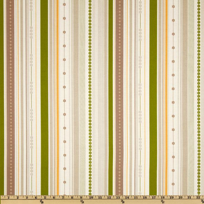 Millie's Closet Stripe Green