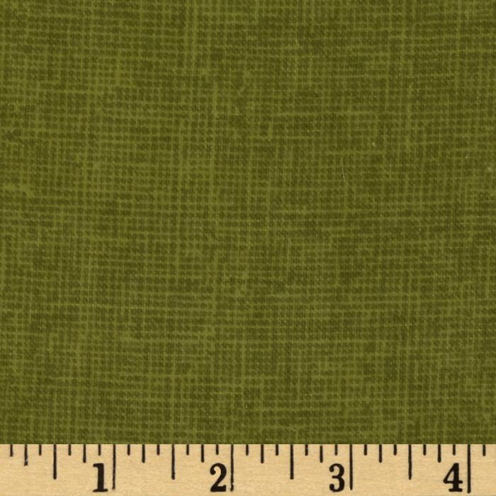 Heritage Flannel Texture Loden