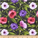 0273128 Windham Chloe Florals Green/Purple