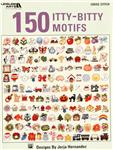 Leisure Arts ''150 Itty-Bitty Motifs'' Cross Stitch Booklet