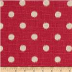 UP-433 Premier Prints Ikat Dots Nina Pink/Birch