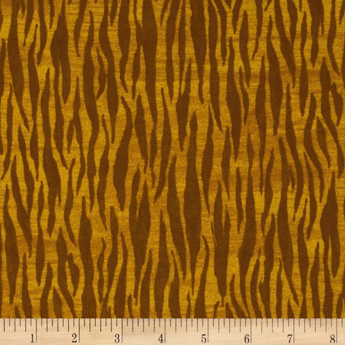 Noah&#39;s Ark Zebra Stripe Yellow/Brown