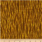 229300 Noah&#39;s Ark Zebra Stripe Yellow/Brown