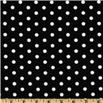 FN-276 Pimatex Basics Polka Dot Black/White