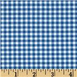 0293102 Patchwork Pals Gingham Blue