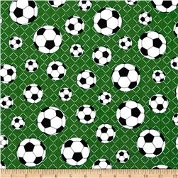 Sports Life 2 Soccer Balls Green