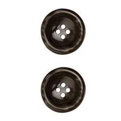"Riley Blake Sew Together 1 1/2"" Pearl Button Black"