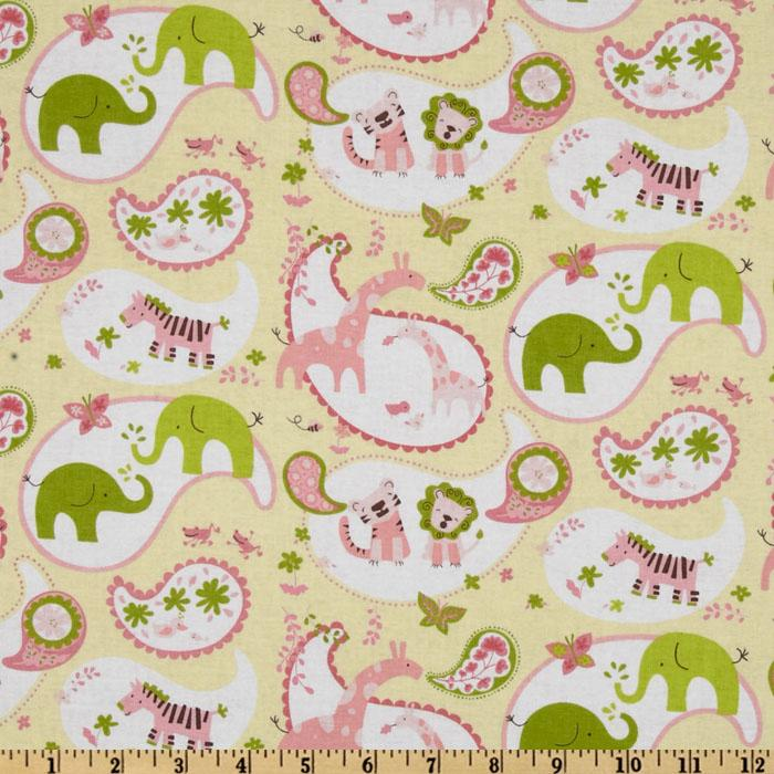 Animal Parade Animal Paisley Yellow