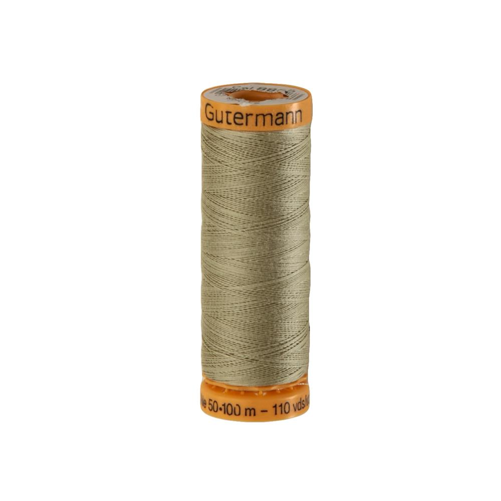 Gutermann Natural Cotton Thread 100m/109yds Dark Celery