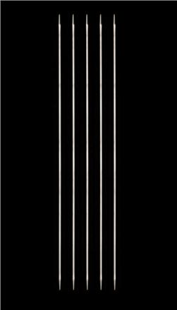 HiyaHiya Steel 8'' Double Pointed Knitting Needles US 0 (2mm)