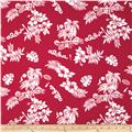 Aunt Polly's Flannel Hawaiian Print Red