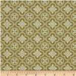 0274287 A Ladies' Diary Rosettes Green