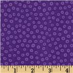 0269498 Pueblo Traditions Many Eyes Looking Dots Dark Purple