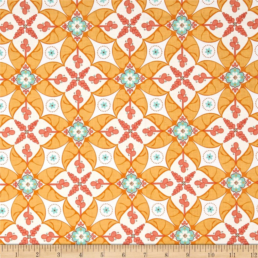 Riley Blake Calliope Scroll Orange