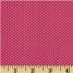 FO-160 Pin Dot Dark Rose