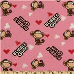 FT-816 Bobby Jack Flannel Bubblegum Love Pink