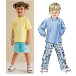 Kwik Sew Toddlers Shirts, Pants & Shorts Pattern