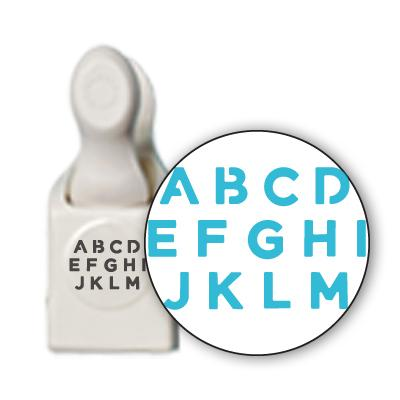 Martha Stewart Crafts Alphabet Punch Set
