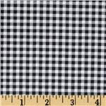 0293104 Patchwork Pals Gingham Black