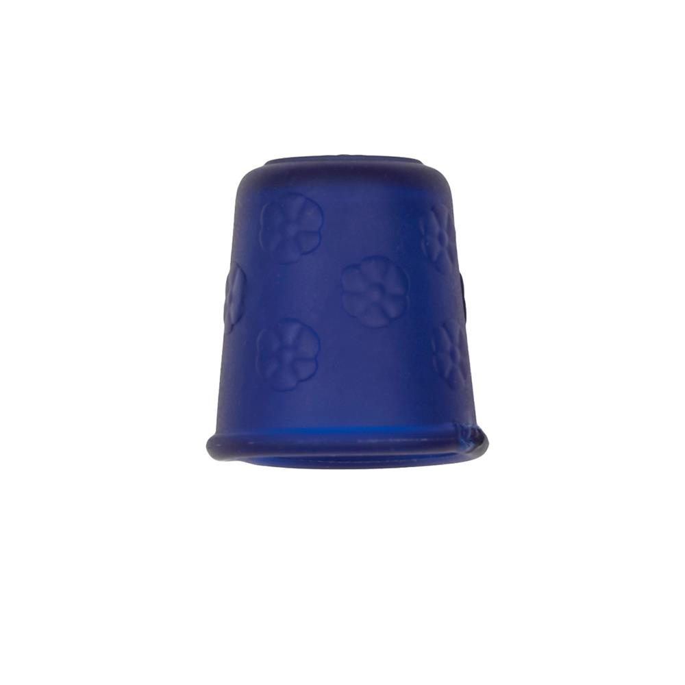 "Dill Rubberized Thimble 7/8"" Blue"