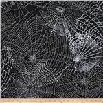 0279750 Kanvas Spooktacular Spider Web Black