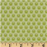 Woodland Tails Dots Green