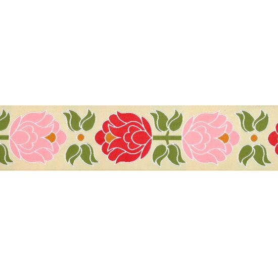 1 1/2'' Ribbon Blooms Pink