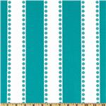Premier Prints Lulu Stripe True Turquoise
