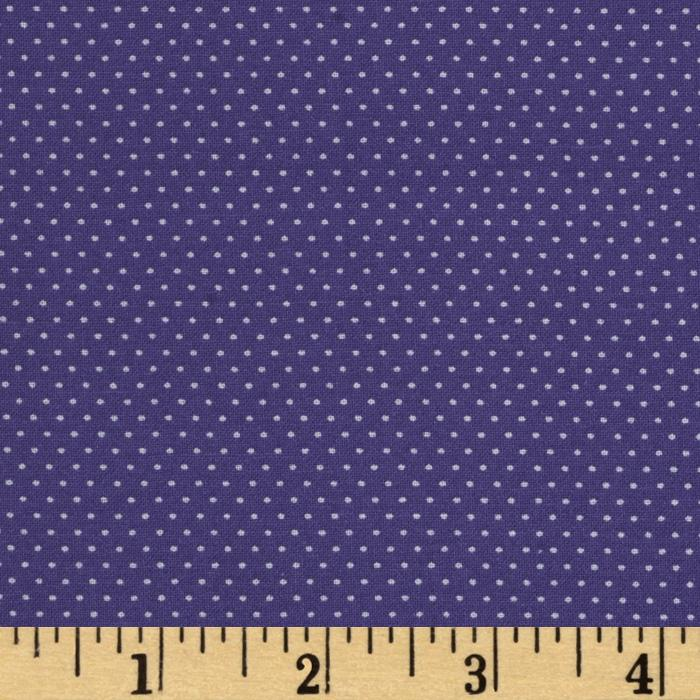 Pin Dot Majestic Purple