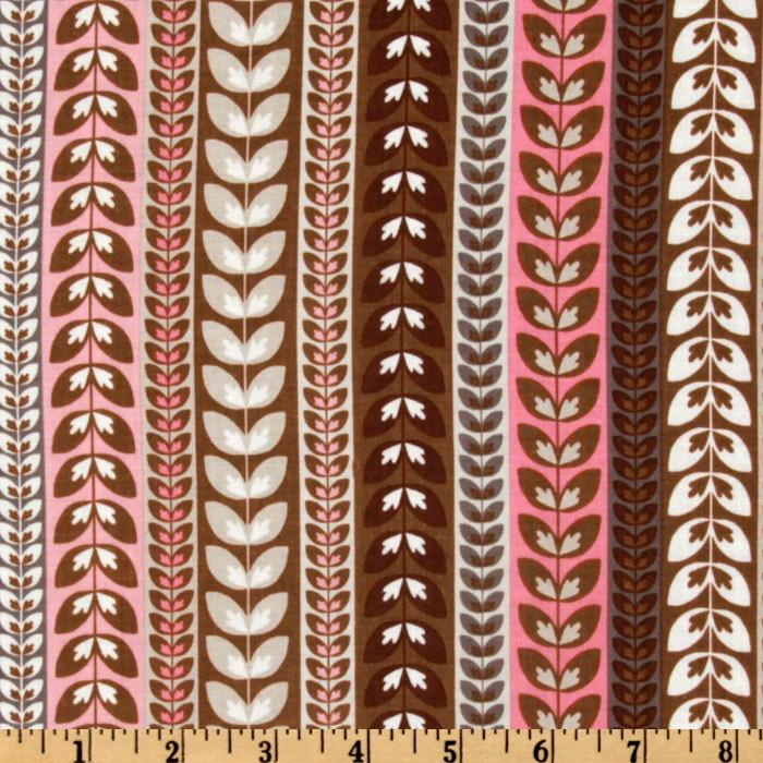 Riley Blake Daisy Cottage Stripe Pink