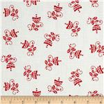 215654 Cruzin&#39; Buds on White/Red