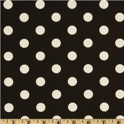 Polka Dots Black/White