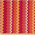 Chevron Chic Packed Chevron Fuchsia