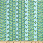 Polka Perch Stripe Aqua