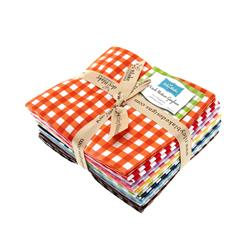 Riley Blake Basics Medium Gingham Fat Quarter Assortment