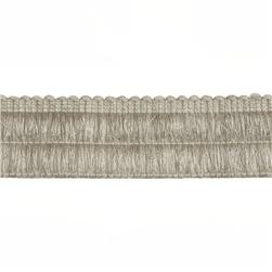 "Duralee 2 1/4"" Brush Fringe Smoke"