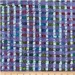 0269788 Indian Batik Plaid Lavender